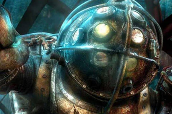 Screenshot of the Bioshock game
