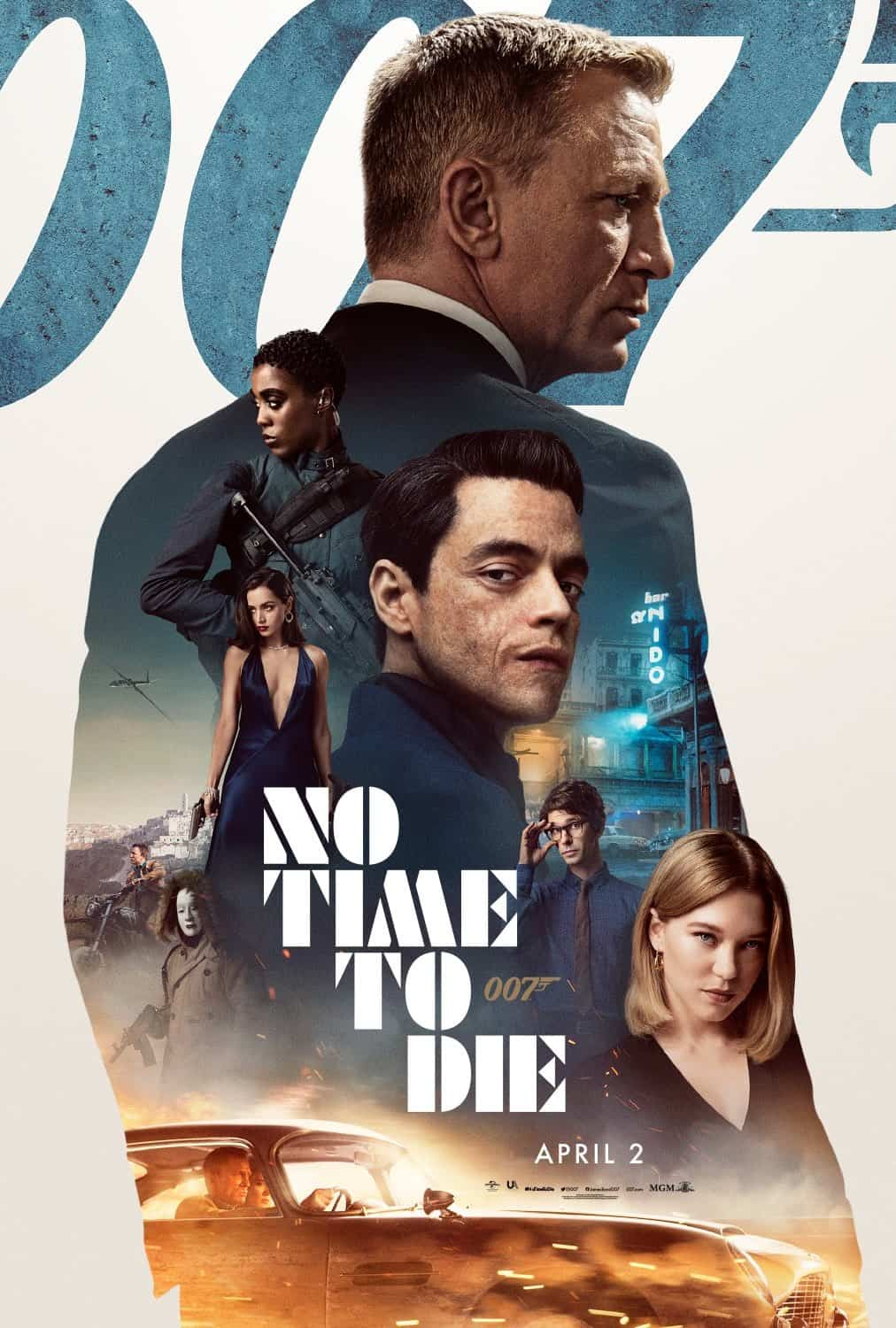 No Time To Die Latest Poster For Incoming James Bond Film Film Stories