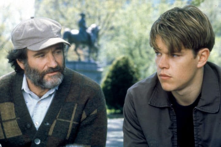 Good Will Hunting Robin Williams and Matt Damon