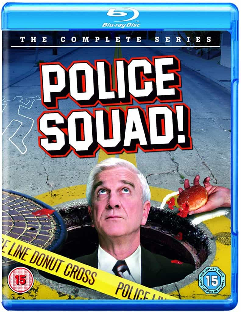 Police Squad! Blu-ray packaging