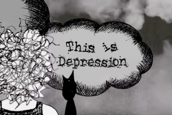 This is Depression's title card