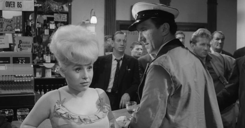 Still frame of actress Barbara Windsor in Sparrow Can't Sing from Talking Picture TV -