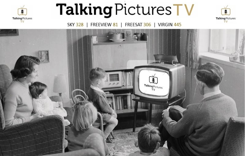 A Talking Pictures TV advert