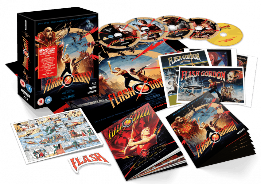 Flash Gordon 4k Re Release Confirmed For August Delayed A Week Film Stories