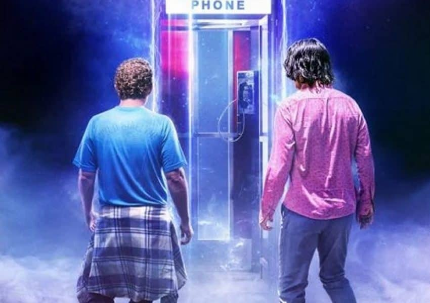 The Future Awaits in Bill & Ted Face the Music poster